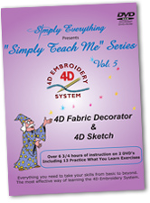 4D Vol. 5 - Fabric Decorator & 4D Sketch