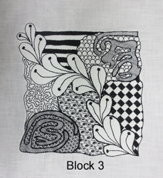 Tangled Embroidery Designs Block 3