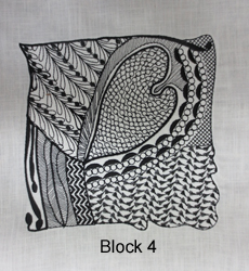 Tangled Embroidery Designs Block 4