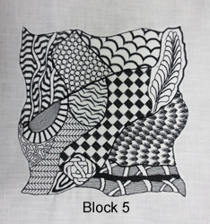 Tangled Embroidery Designs Block 5