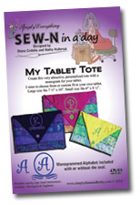 SEW-N in a day My Tablet Tote