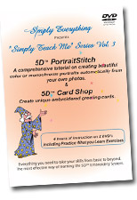 5D Portrait Stitch 5D Card Shop