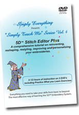 5D Vol. 4 - Stitch Editor Plus