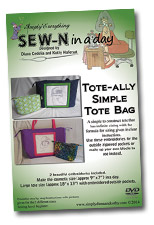 SEW-N in a day Tote-Ally Simple Tote Bag